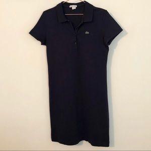 Lacoste Navy Polo Tennis Dress 42/10